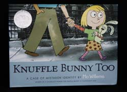 Knuffle Bunny Too book cover image