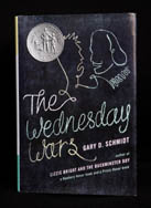 Wednesday Wars book cover image