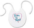 Preschool Activities - Library Week - Born to Read Bib