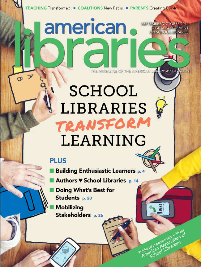 School Librarians Transform Learning cover
