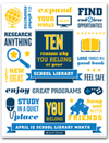 aasl School Library Month Poster