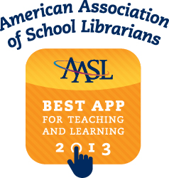 aasl best apps 2013 logo