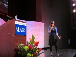 Susan Cain speaking at American Library Association Midwinter Meeting 2012