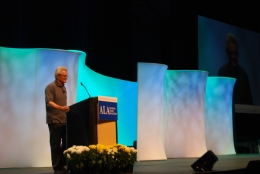 John Irving speaking at ALA Annual Conference 2012