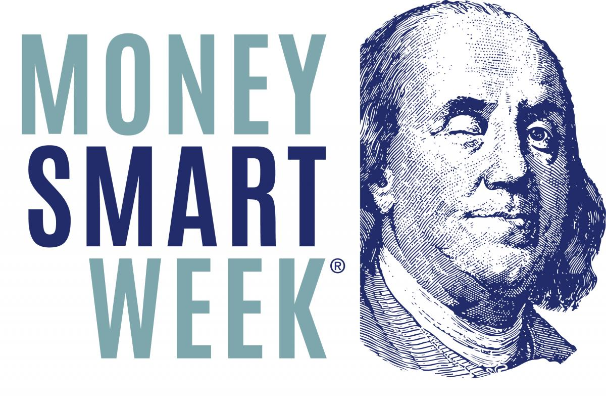 Money Smart Week Benjamin Franklin winking