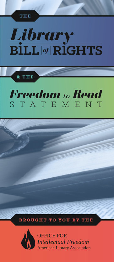 Library Bill of Rights and Freedom to Read Statement