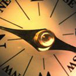 Closeup of Compass Logo of ALA Chapter Relations Office