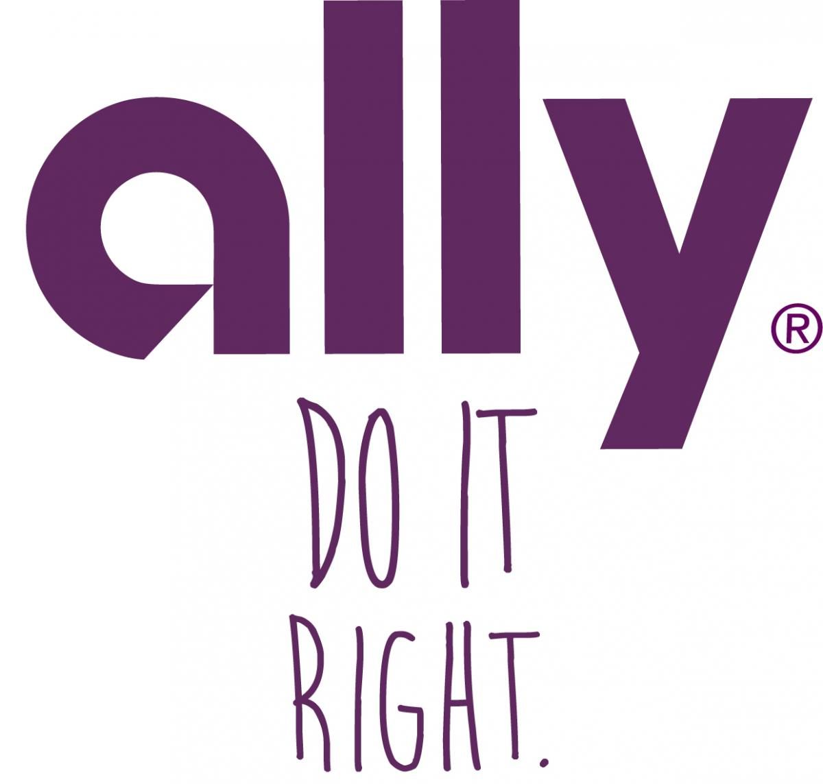 Ally Logo Do It Right (registered trademark)