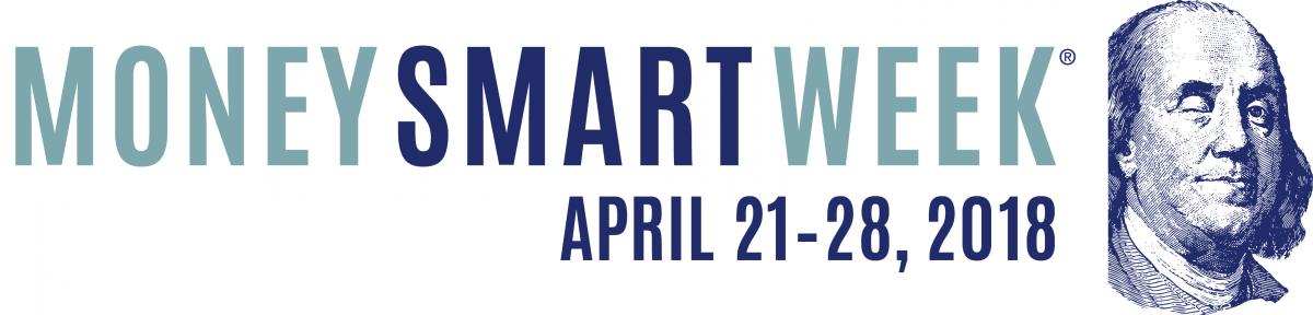 Money Smart Week April 21-28, 2018 with Picture of Benjamin Franklin