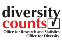 logo for the diversity counts report