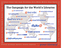 Campaign for the World's Libraries logo