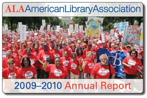 cover image for the 2008-2009 ala annual report