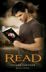 taylor lautner read poster