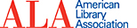 "ALA Logo that reads, ""ALA American Library Association"""