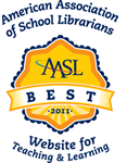 American Association of School Librarians Best Websites for teaching and learning