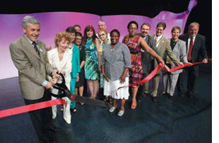 2011 Annual Conference ribon cutting
