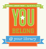 2012 National Library Week Logo