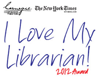 I Love My Librarian 2012