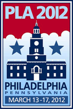 2012 PLA Conference, held March 13–17 in Philadelphia