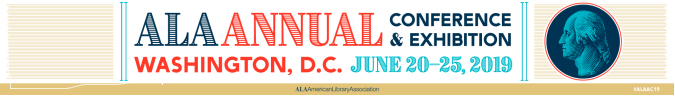 ALA 2019 Annual Conference horizontal logo