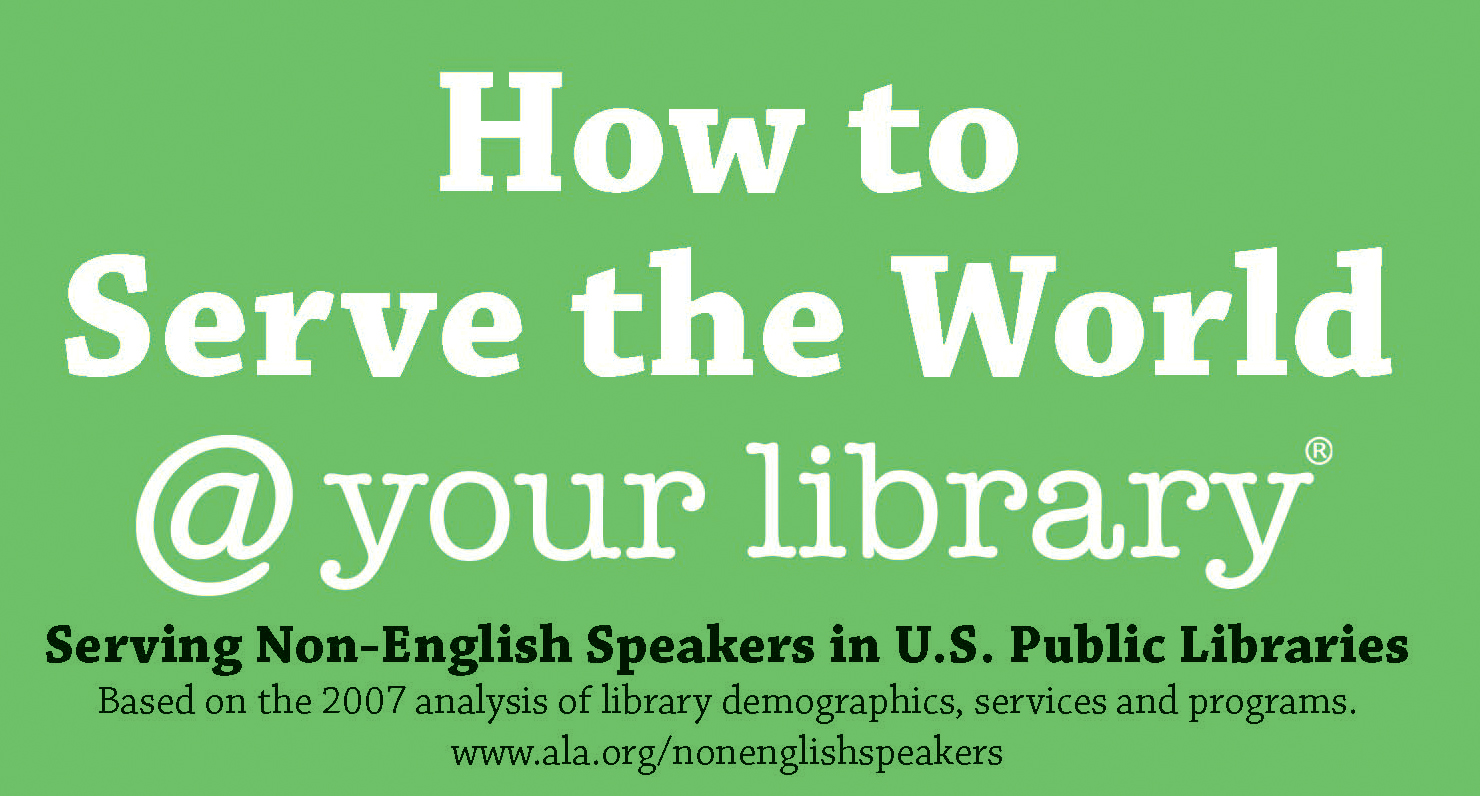 Serve the World @ your library