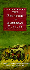 frontier in american culture brochure cover
