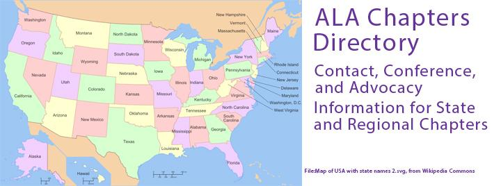 ALA Chapters Directory / Contact, Conference, and Advocacy Information for State and Regional Chapters