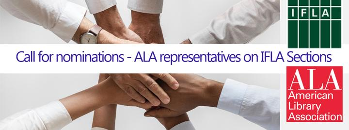 Call for ALA members to serve on IFLA Sections