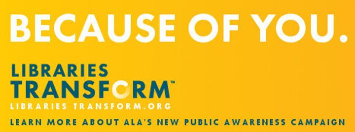 Libraries Transform public awareness campaign