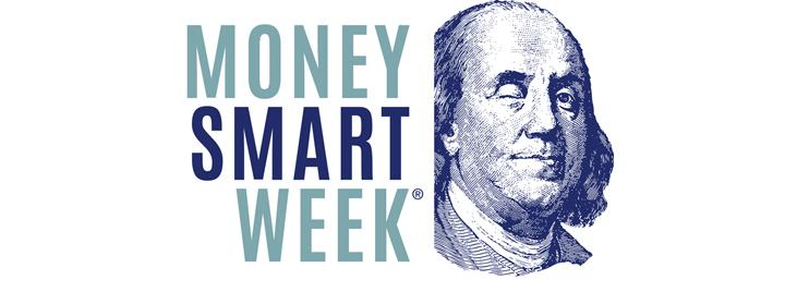 Money Smart Week with picture of Benjamin Franklin