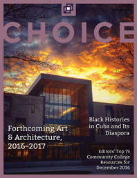 cover of Choice magazine, December 2016
