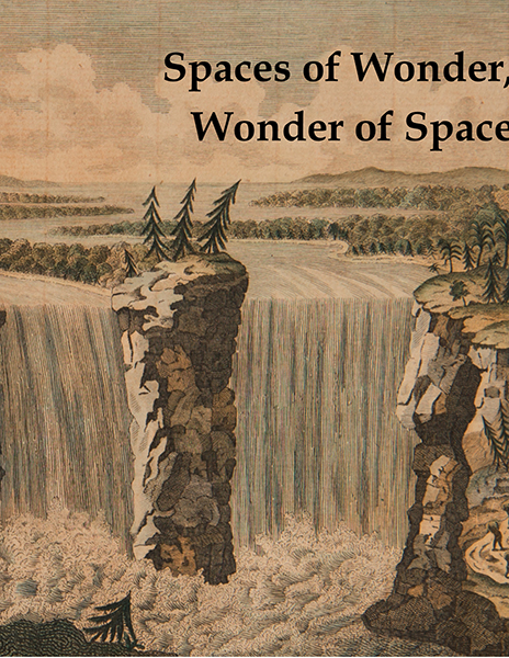 "Photo of cover for ""Spaces of Wonder, Wonder of Space: Encountering the Eighteenth Century in Image, Object, and Text"""