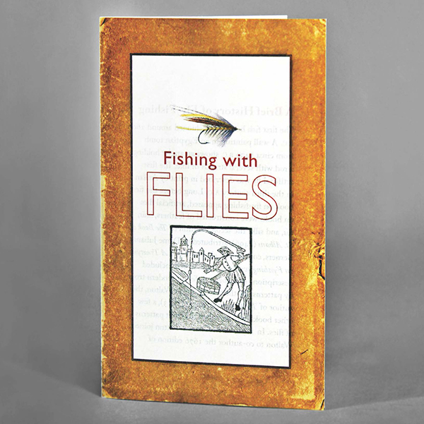 "Image of brochure for ""Fishing with Flies"""