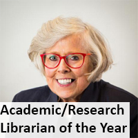 Link to Academic/Research Librarian of the Year Award