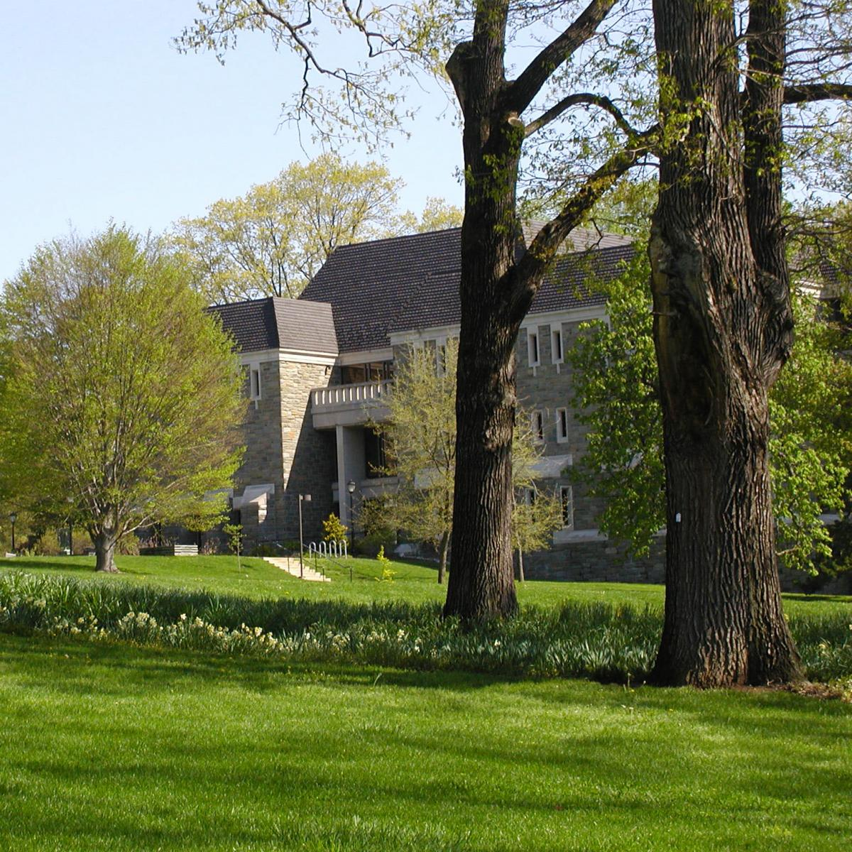 Photo of Swarthmore College library