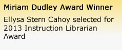 Dudley Award Winner