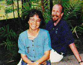 photograph of Susan F. Maesato and Kevin M. Roddy, University of Hawai'i at Hilo Hilo, Hawai'i