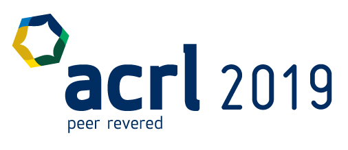 ACRL 2019 conference logo