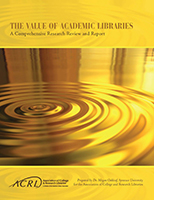 Value of Academic Libraries Report cover