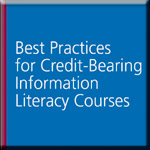 Best Practices for Credit-Bearing Information Literacy Courses book