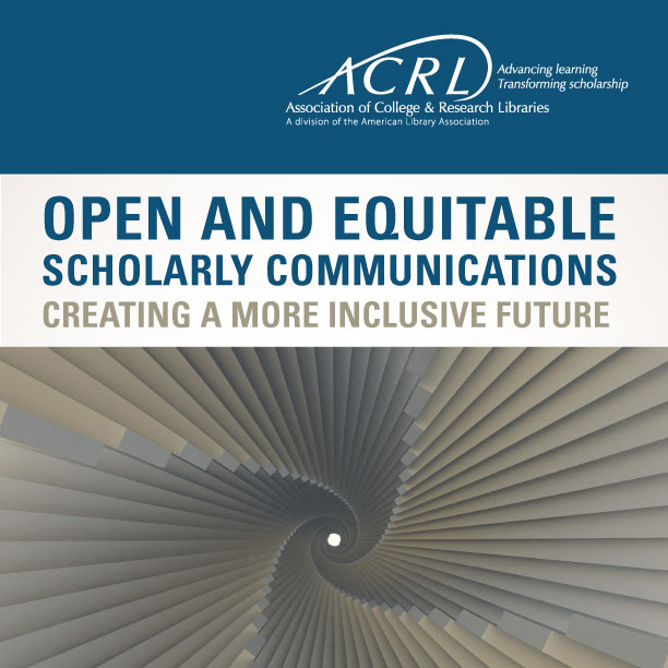 Cover for Open and Equitable Scholarly Communications