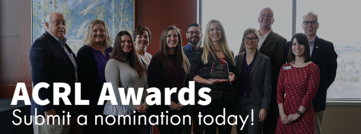 ACRL Awards: Submit a nomination today!