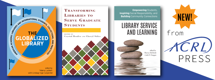 New Titles from ACRL press