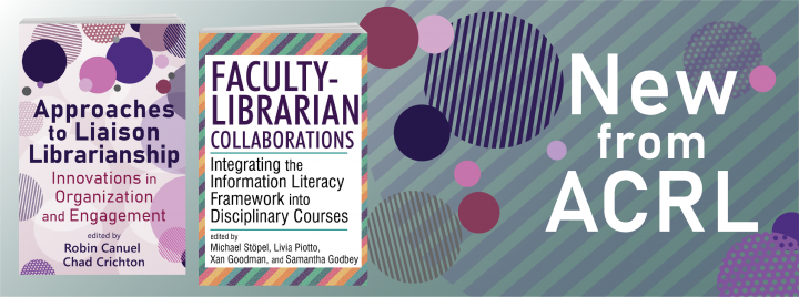New pubs from ACRL