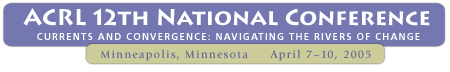acrl 12th national conference logo