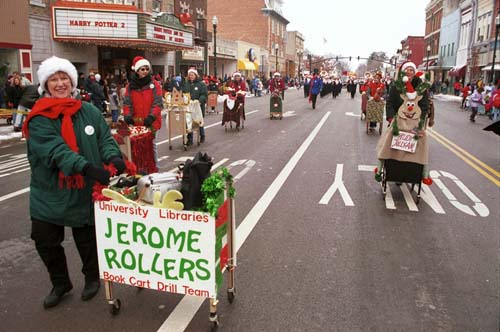Jerome Rollers Book Cart Drill Team