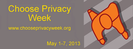Choose Privacy Week May 1-7, 2013, www.chooseprivacyweek.org