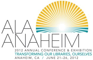 ALA Annual Conference Anahein 2012 logo
