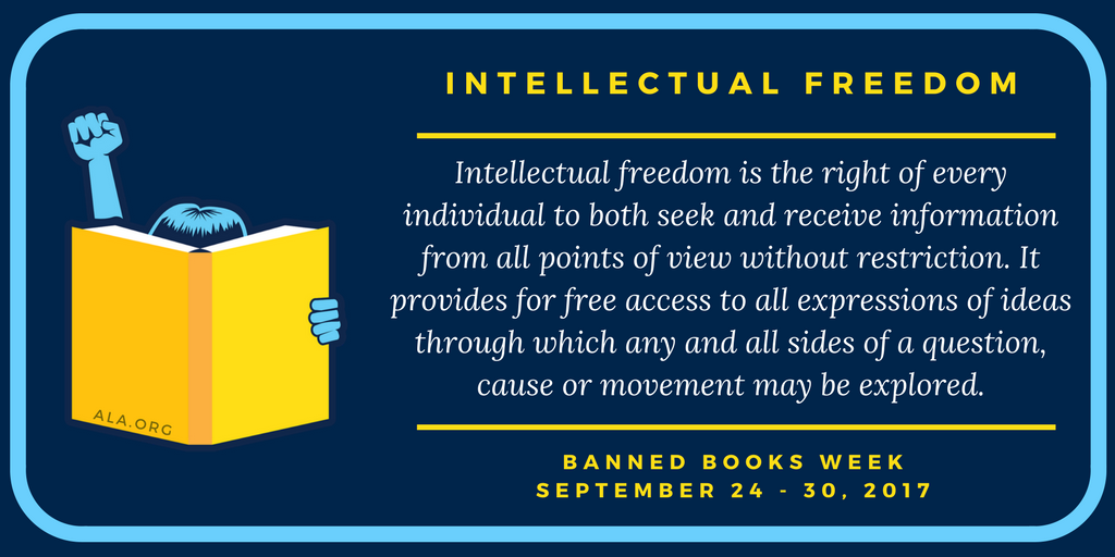 Banned Books Week definition of Intellectual Freedom