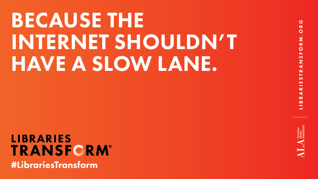 Twitter share image: Because the internet shouldn't have a fast lane.